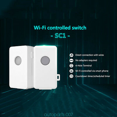 Broadlink SC1 Home Smart Switch WiFi Controlled Power Light Automation as07