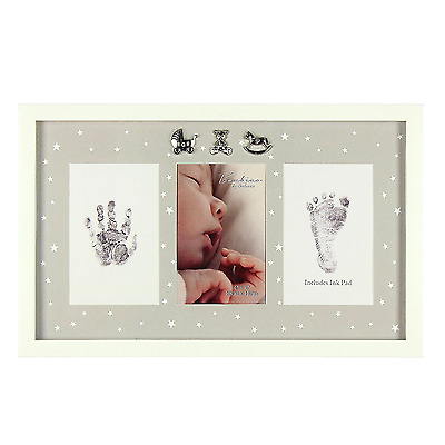 Baby Hand Foot Print & Photo Frame Gift