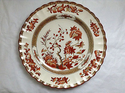 Fabulous Copeland Spode India Tree Dinner Plate 10 1/4 Inches