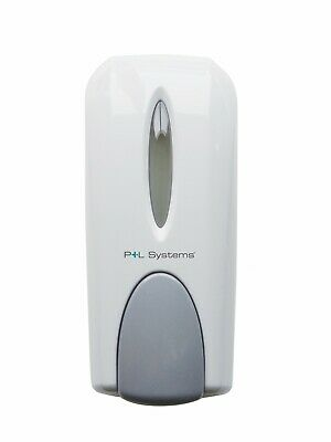 P+L Systems Classic Wall Mount Manual Soap Dispenser colour Chrome or White