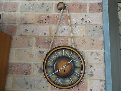 Rare Vintage Emes German Wall Working Clock