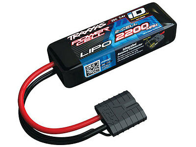 Traxxas 2200mah 7.4v 2-Cell 25C LiPo ID Battery - 1/16 Models #2820X