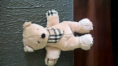 peluche ours burberry 30 cm inter parfun paris