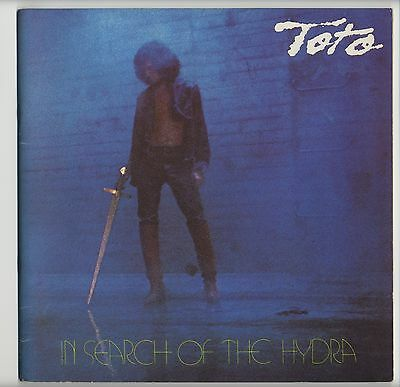 Toto - In Search Of The Hydra JAPAN PROGRAM March 2-13 1980