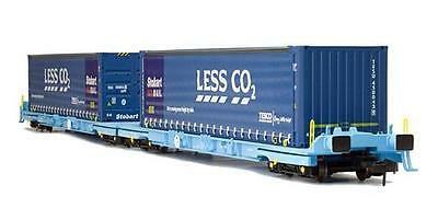 Dapol 2F-053-003 Megafret Wagon 3368 4943 061 Less Co2 Containers Weathered