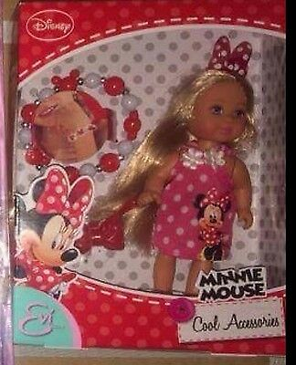 Disney Minnie Mouse Evi Love Doll Set With Accessories! Brand New!