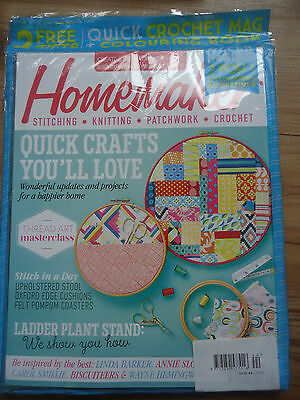 Homemaker Sewing,Patchwork,Knitting Etc Magazine 2016 Issue 44 With Free Gifts