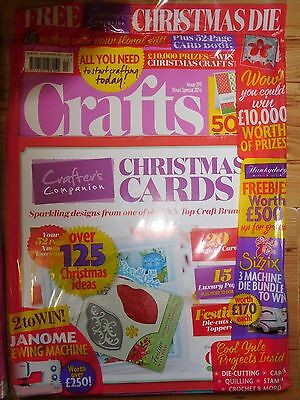 Crafts Beautiful Magazine Issue 298 Christmas 2016 With Free Gifts RRP £5.99
