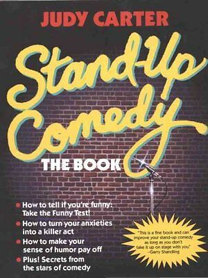 Stand up Comedy The Book by J. Carter 9780440502432 (Paperback, 1989)