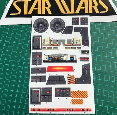 Custom Die cut replacement stickers for Star Wars vintage AT-AT AT AT Best ever!