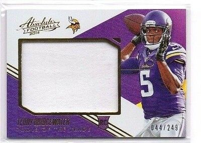 Teddy Bridgewater, (Rookie) 2014 Absolute,Tools of the Trade,(Materials), /249
