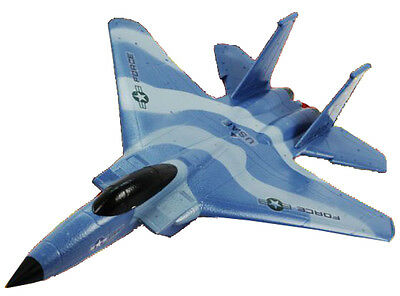 Ready To Fly RC Remote Radio Control 2.4G 2CH F-15 Fighter Glider Plane