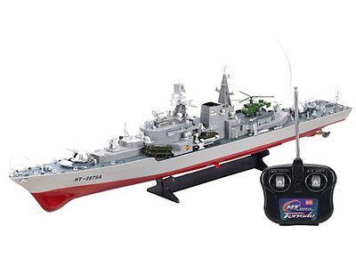 RC Radio Remote Control Navy Military War Destroyer Boat Battle Ship 1:115 Scale