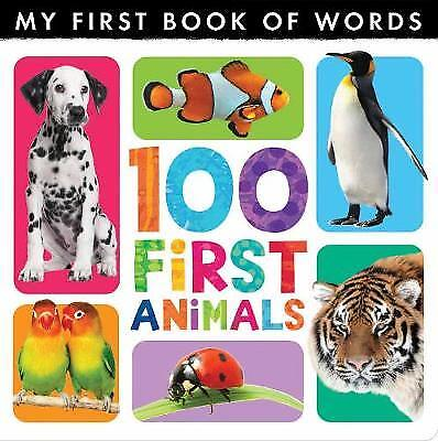My First Book of Words: 100 First Animals - 9781848956322