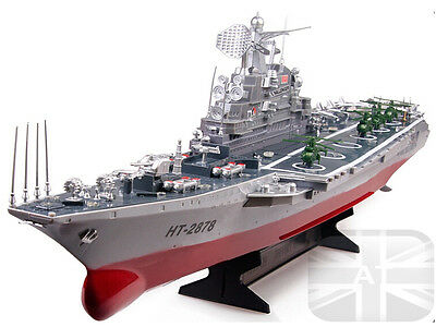RC Radio Remote Control Boat Navy Aircraft Carrier ship 1:275 Scale Boat Lakes