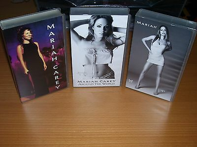 Set 3 Vhs Mariah Carey: Here Is Mariah Carey - Around The World & #1's