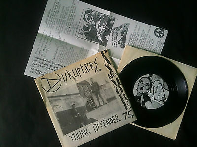 "Disrupters - Young Offender  7""  UK 1981  EX-/EX   # Punk"