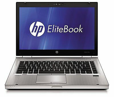 HP EliteBook 8470P 14-Inch Notebook ( Silver) - (Intel i5-3320M, 4 GB RAM, 320 G