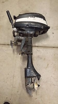 Mariner 5Hp Outboard - 2 Stroke Boat Engine - Tinny Tinnie Dinghy