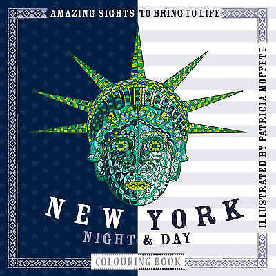 New York Night & Day Colouring Book - 9781780978574