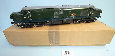 Skytrex 'o' Gauge Smr420 Class 37/0 Green Loco For Restoration Boxed #68