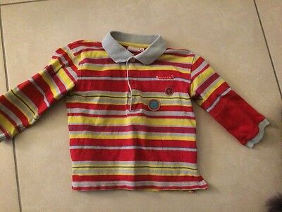 Pull Polo Bebe Garcon Taille 24 Mois 2 Ans Excellent Etat Marque Influx
