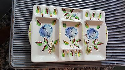 """Vintage Beswick 17"""" Hors' D`oeuvres Serving Dish Eggs Fruit Stamped 1636 (S 01)"""