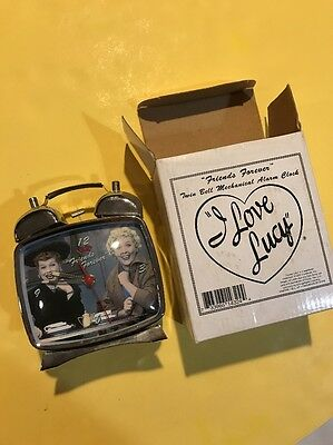 I Love Lucy Twin Bell Alarm Clock ~ Friends Forever NIB