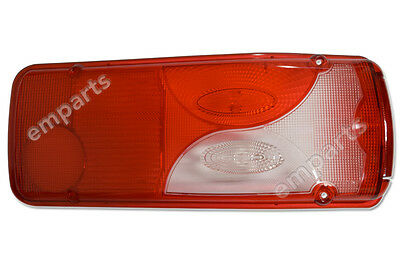 X2 Mercedes Sprinter Chassis Cab Luton Rear Light Lens Lamp . Left /& Right