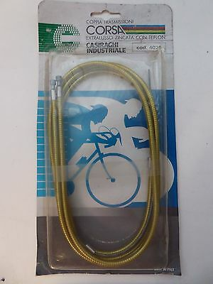 Vintage NOS 80s  Casiraghi Gold INOX   Racing Brake Cables set for Campagnolo