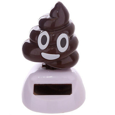 Dancing Poo Solar Powered Poop Toilet Humour Move Your Sh*t Funny Decoration