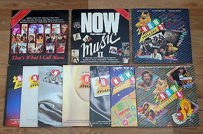 Now Thats What I Call Music Vinyl 1,2,3,4,5,6,7,8,9,10 Set 1 - 10