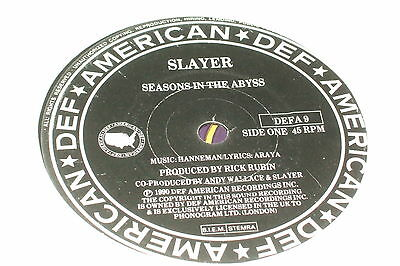 """Slayer – Seasons In The Abyss 7""""         1991   THRASH METAL!!"""