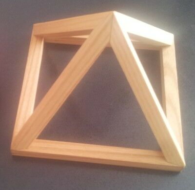 wooden healing pyramid- medium size
