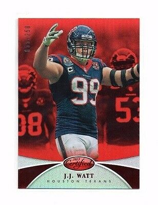 J.J. Watt 2013 Panini Certified. Mirror Red, 55/250 !!