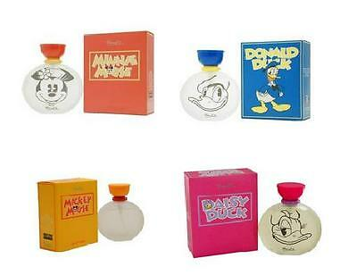 Disney Kids Perfume 50ml EDT Micky Mouse Minnie Mouse Daisy Donald Duck