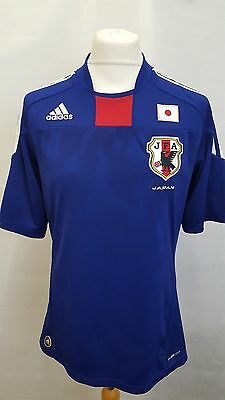 Official Japan Home Football Shirt Adidas Climacool 2010 World Cup M Medium