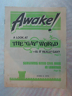 Awake! Magazine Oct 8 1961  How Does Protestantism Stand With God? Special Issue