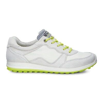 Ecco Womens Biom Hybrid 2 Lite Golf Shoes Gravel Shadow White Size 39 (UK 6)