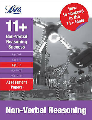 Non-Verbal Reasoning Age 8-9 - 9781844193349