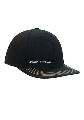 Oem Genuine Mercedes Benz Men's Amg Stretch Fit Cap Hat