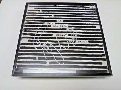 ROGER WATERS Is This The Life We Really Want? SIGNED + FRAMED Record Album PROOF