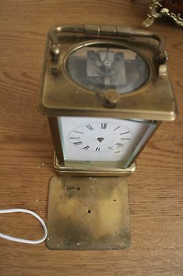 PETITE SONNERIE GORGE CARRIAGE CLOCK victorian requires restoring