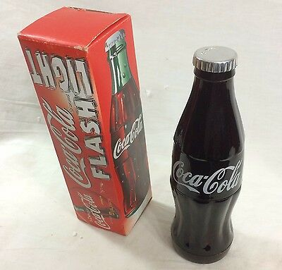 Coca-Cola Bottle Shaped Flashlight 1999
