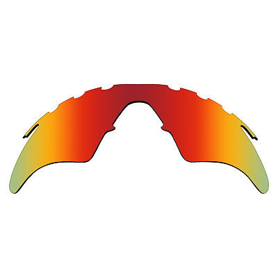 RED MIRRORED POLYCARBONATE Replacement Lenses For-Oakley M Frame ...