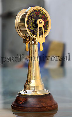 Vintage Brass Telegraph Marine SHIP ENGINE Nautical Telegraph Collectible Decor
