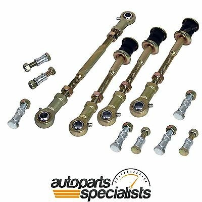 "Front + Rear H/Duty Extended Sway Bar Link Kit fit Patrol GU Y61 suit 2""-8"" Lift"