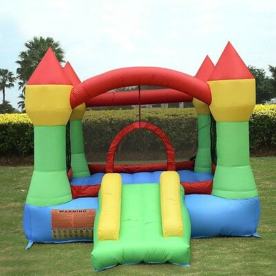Inflatable Mighty Bounce House Castle Jumper Moonwalk Bouncer Bouncy Castle New