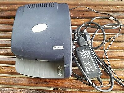 RDM EC6000i Electronic Check Reader and Scanner Model EC6014F, tested ONLY power