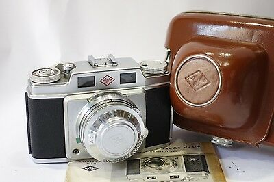 Agfa Super Silette Solagon 35mm Rangefinder camera & 50mm 1:2.0 lens, *RARE*